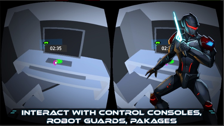 VR Thief (Sci-Fi Stealth) screenshot-4