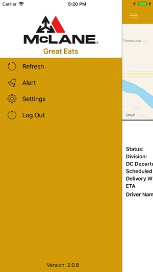McLane Delivery Tracker on the App Store