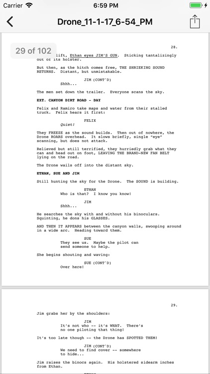 Slugline: Simply Screenwriting screenshot-3