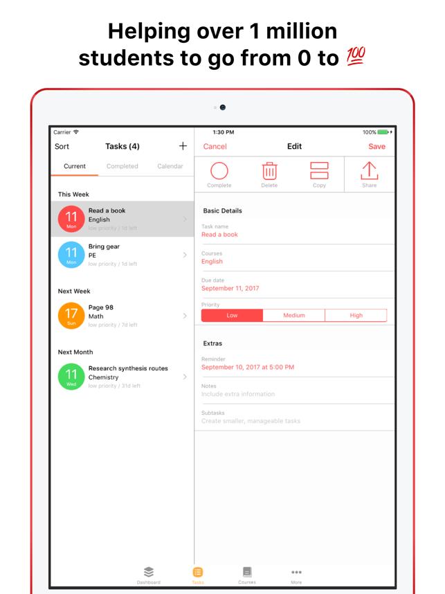 The Homework App on the App Store