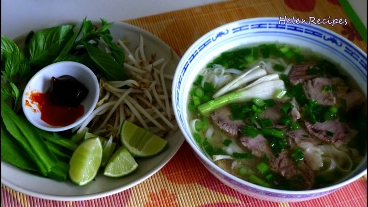 Famous Vietnamese Food Recipes screenshot-3