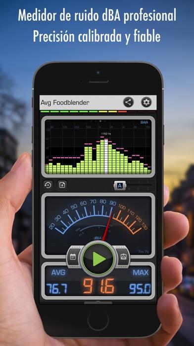 Screenshot for Decibel X PRO - dB Sound Meter in Venezuela App Store