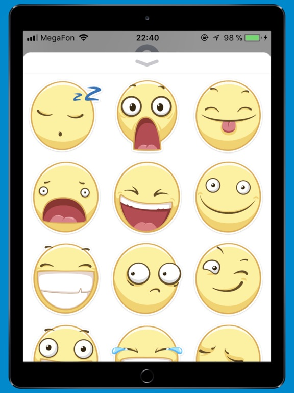 smileSTiK sticker for iMessage-ipad-1
