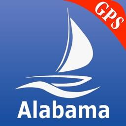 Alabama GPS Nautical Charts