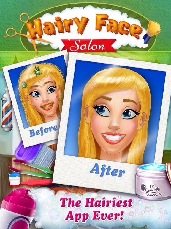 Hairy Face Makeover Salon на iPad