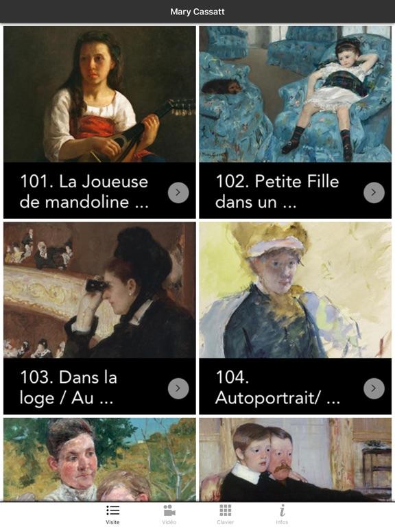 Screenshot #4 pour Exposition Mary Cassatt