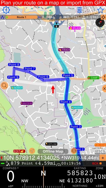 Compass 55. Map & GPS kit. screenshot-6