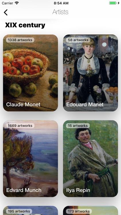 Artroom - paintings, artists screenshot-4