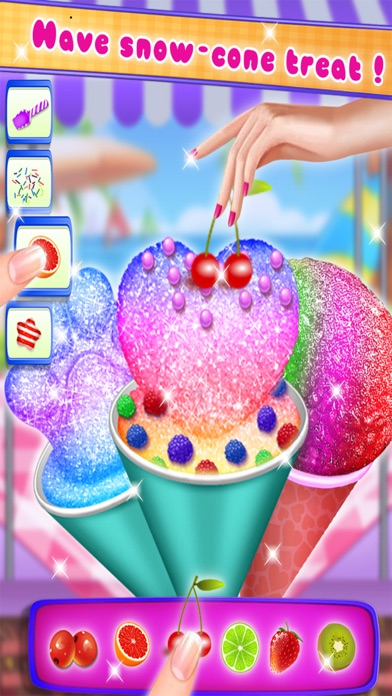 Lecker! Snow Cone MakerScreenshot von 1