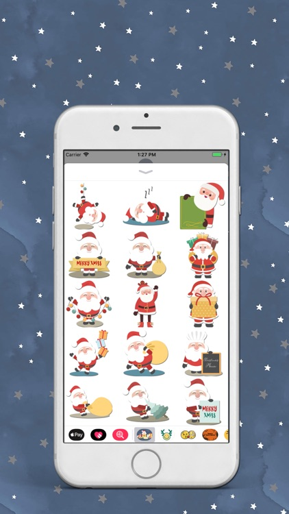Santa Love Sticker
