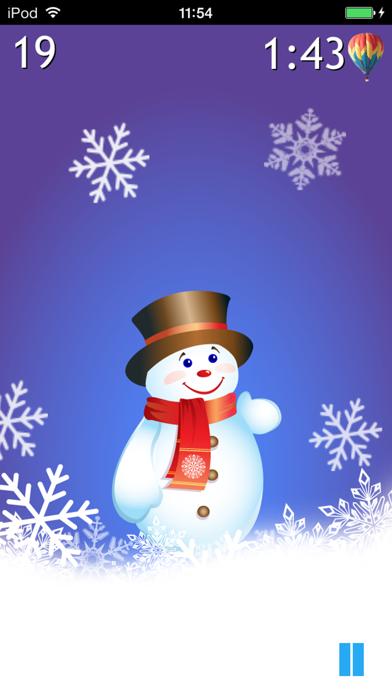 Winter Pop: Save the Snowman screenshot three