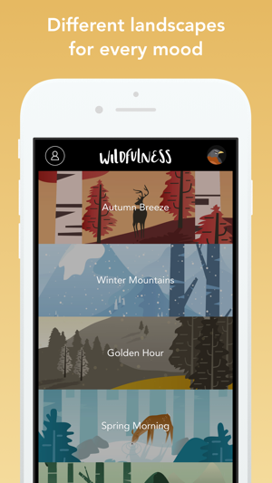 Wildfulness: Meditate & Relax Screenshot