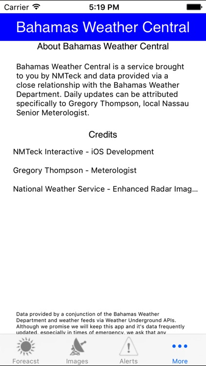 Bahamas Weather Central screenshot-3