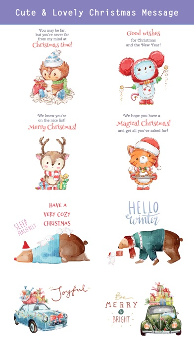 Fairytale Christmas Stickers screenshot 3