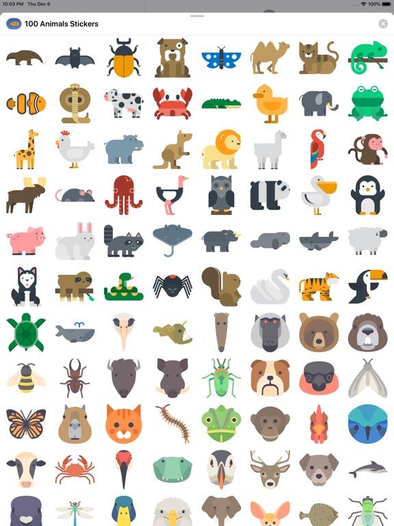 150+ Animals Stickers screenshot 5