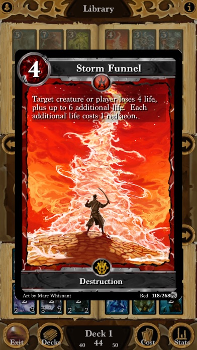 Screenshot #1 pour Lost Portal CCG