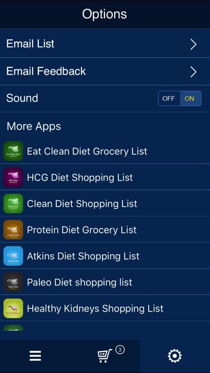 Acid Reflux Shopping List screenshot-4