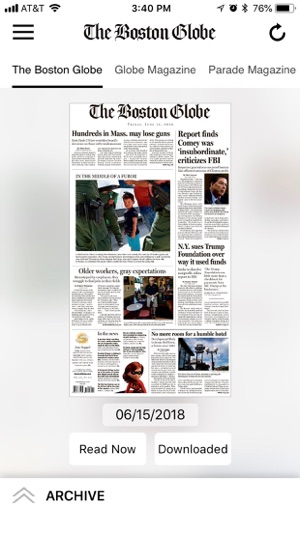 The Boston Globe Epaper On The App Store