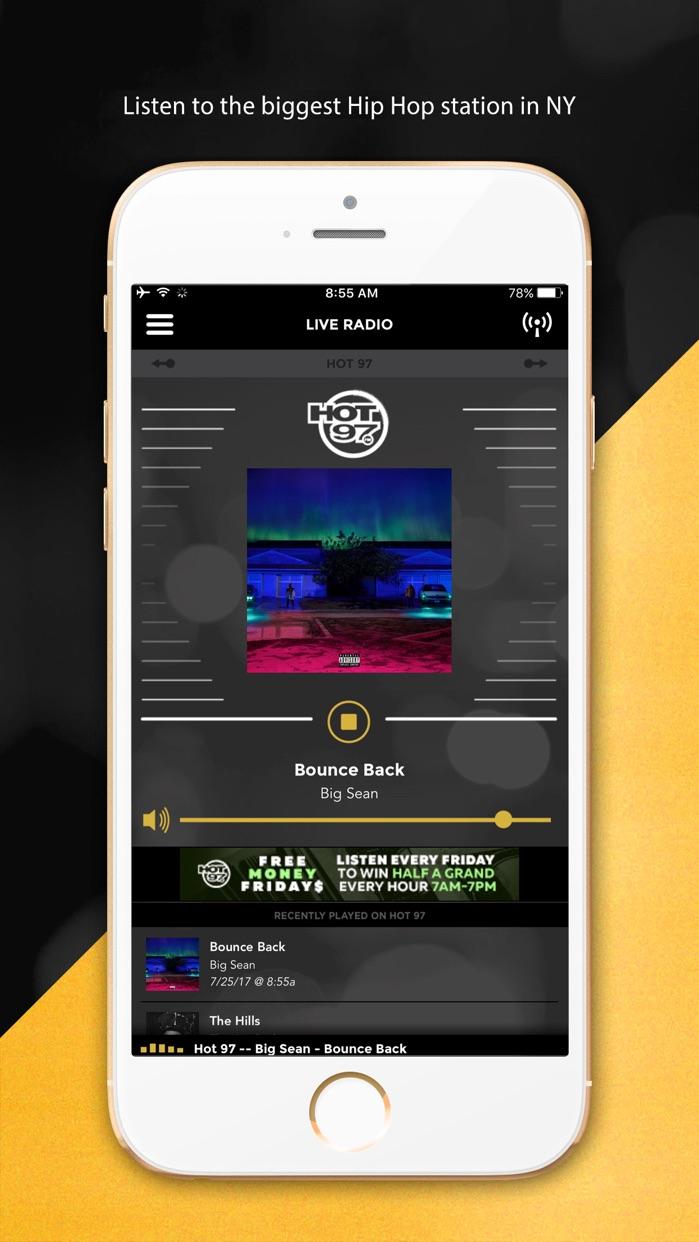 HOT 97 Worldwide Screenshot