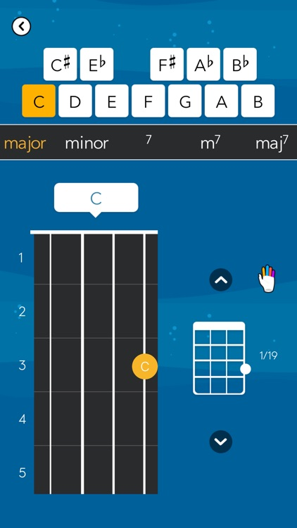 Tunefor Ukulele tuner & chords screenshot-8