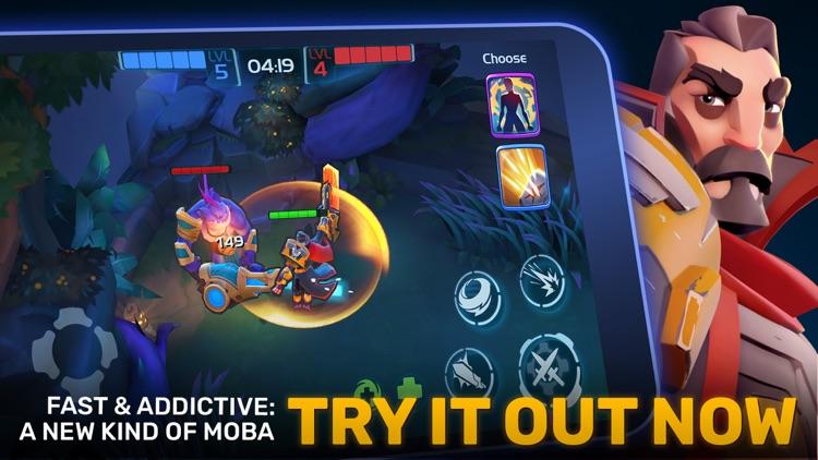 Planet of Heroes - A MOBA Game screenshot-4