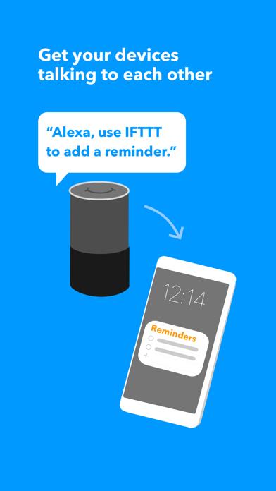 IFTTT Screenshot on iOS