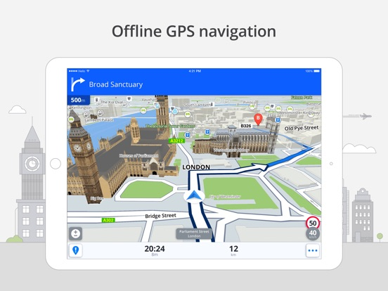 Screenshot #1 for Sygic World: GPS Navigation