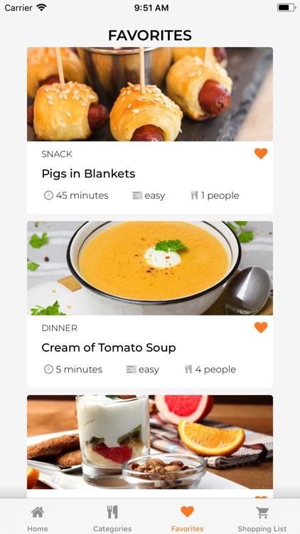 Keto Recipes Diet App screenshot-3