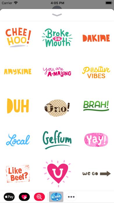 Aloha Sticker PackScreenshot of 2