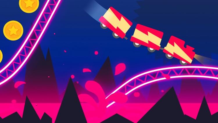 Rollercoaster Dash screenshot-3