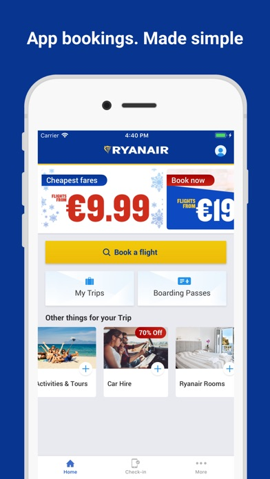 Ryanair for Windows