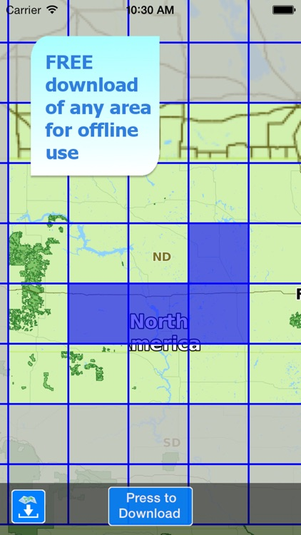 Aqua Map North Dakota Lakes screenshot-4