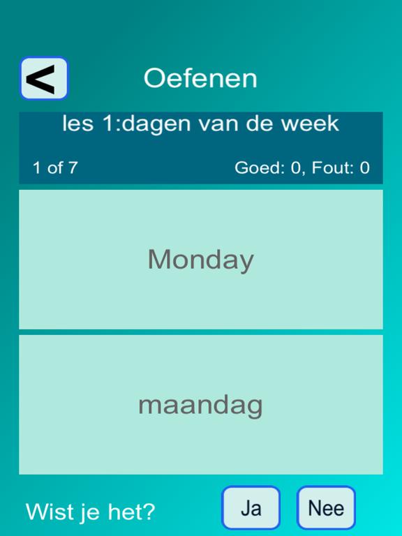Woorden EN (taalles, vertalen) screenshot 5