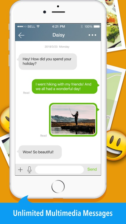Mo+ - Calling & Texting App screenshot-4