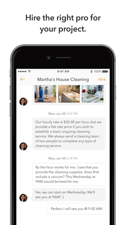 Thumbtack: Hire local services screenshot-4