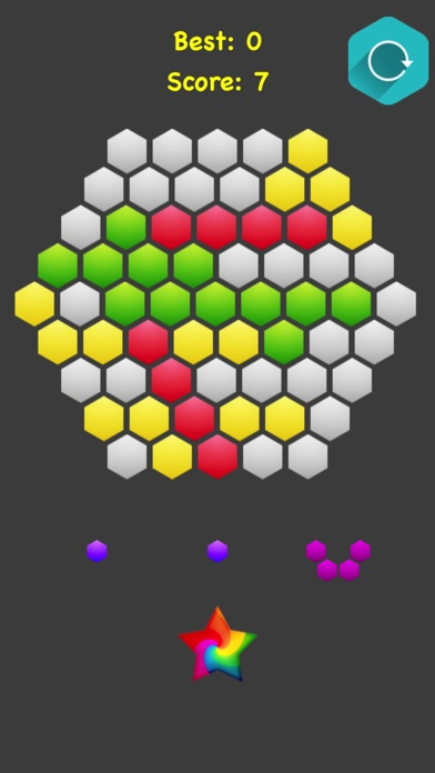 Hexagonal Merge screenshot 5