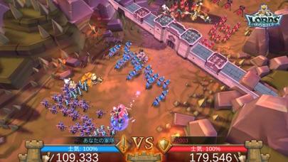 ロードモバイル: オンラインキングダム戦争&ヒーローRPGのスクリーンショット5