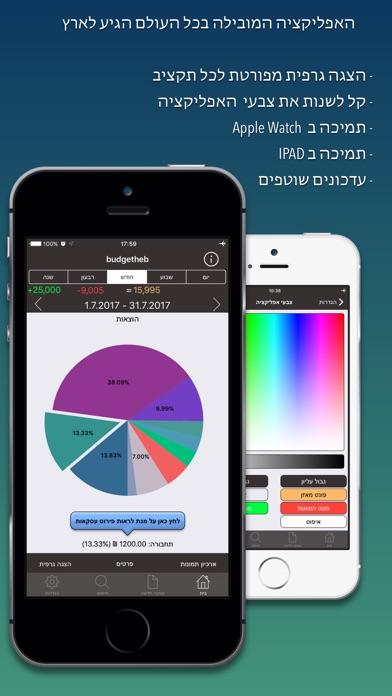 iBudgetPro-ניהול תקציב Screenshot 1