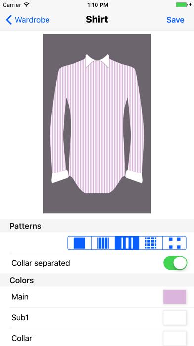 スーツ コーディネーターのスクリーンショット3