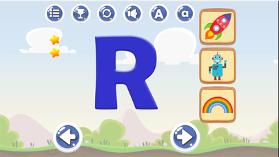 New Letter Sounds A to Z Games screenshot one