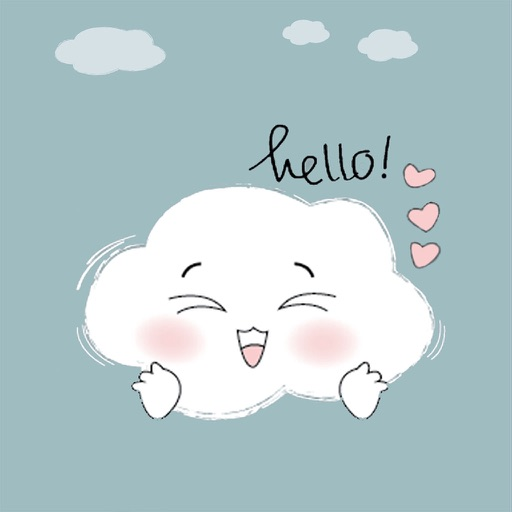 Lovely Cloud Stickers
