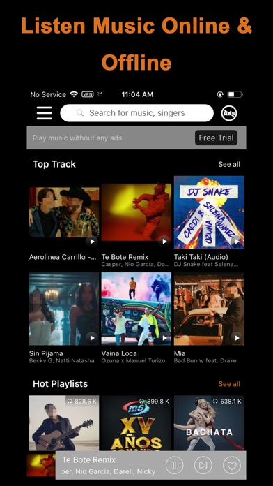 Top 10 Apps like Music Mate - MP3 Video Offline in 2019 for