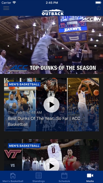 ACC Sports - Official App screenshot-2