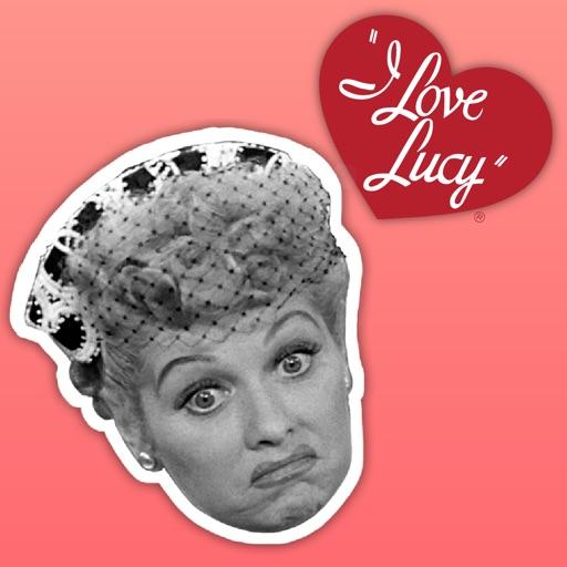 I LOVE LUCY emoji expressions