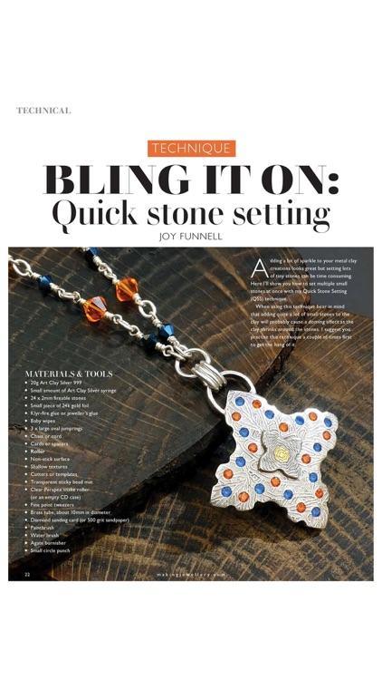 Making Jewellery Magazine screenshot-3