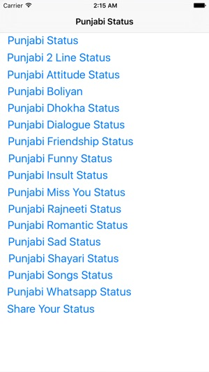 Punjabi Status (Funny Status) on the App Store