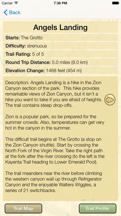 Hiking Utah's National Parks screenshot-4