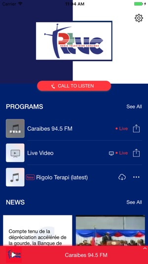Rtvc haiti on the app store - Radio caraibes fm 94 5 port au prince ...