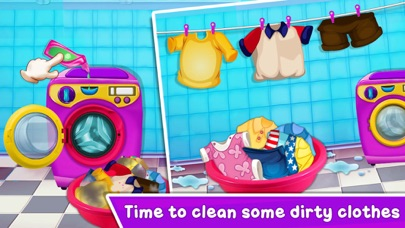 Baby Girl Home Cleaning screenshot 3