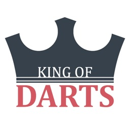 King of Darts scoreboard